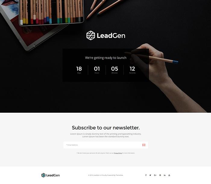 LeadGen - Multipurpose Marketing Landing Page Pack with ...