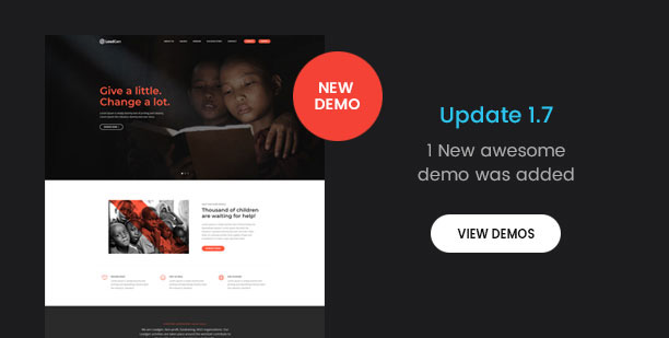 LeadGen - Multipurpose Marketing Landing Page Pack with HTML Builder - 3