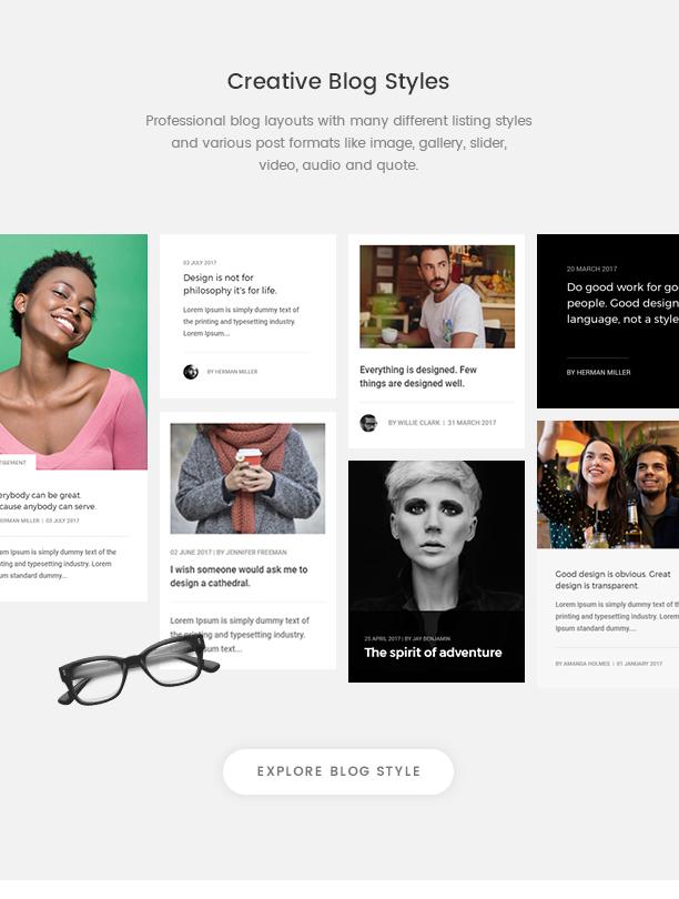 Pofo - Creative Agency, Corporate and Portfolio Multi-purpose Template - 16
