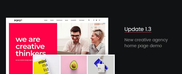 Pofo - Creative Agency, Corporate and Portfolio Multi-purpose Template - 4