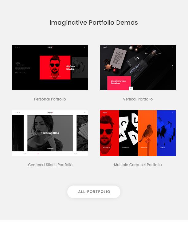 Pofo - Creative Agency, Corporate and Portfolio Multi-purpose Template - 7