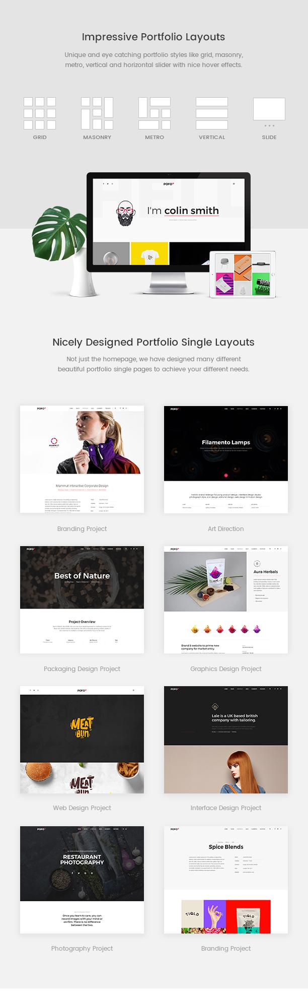 Pofo - Creative Agency, Corporate and Portfolio Multi-purpose Template - 10