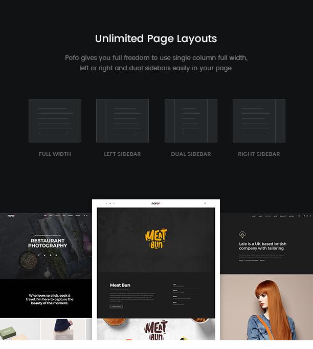 Pofo - Creative Agency, Corporate and Portfolio Multi-purpose Template - 15