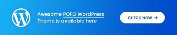 Pofo - Creative Agency, Corporate and Portfolio Multi-purpose Template - 2