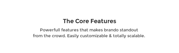 Brando Responsive and Multipurpose OnePage WordPress Theme - 25