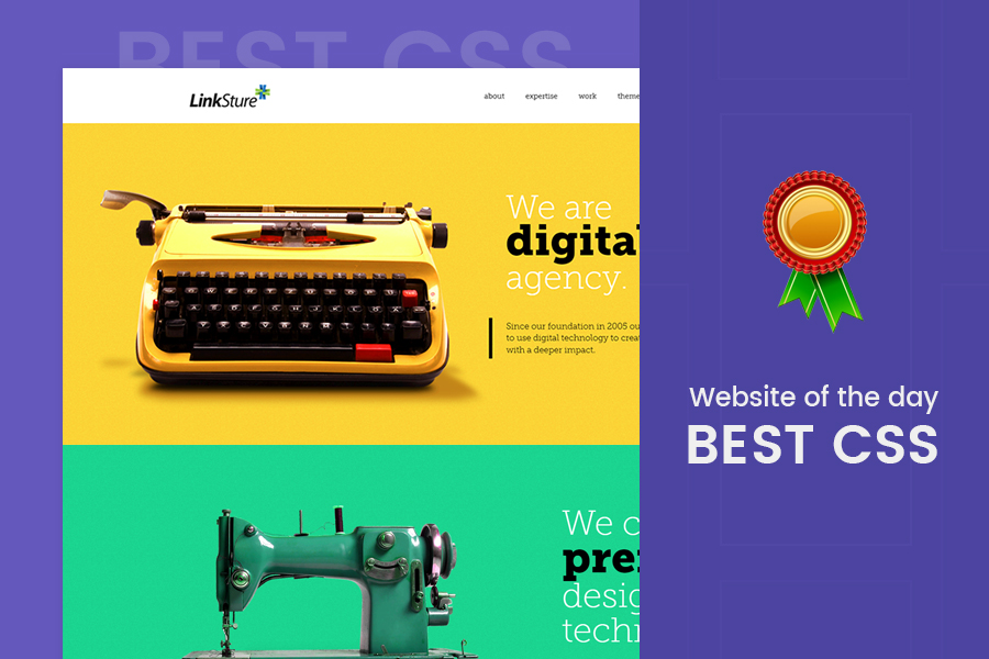 Website of the day – BestCSS award