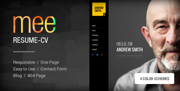 Mee html template