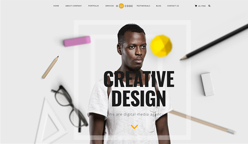 Showcase The Best Version Of Your Brand And Creativity Through 10+ Most Creative WordPress Themes Of 2019