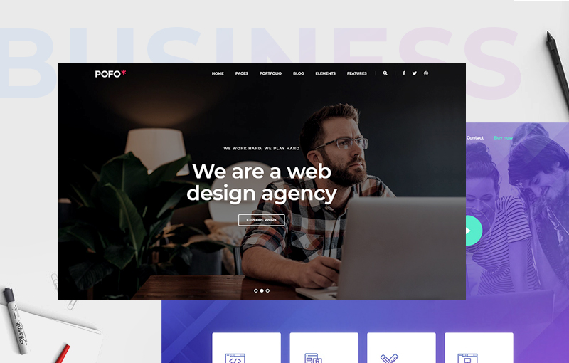 11+ High-grade Business WordPress Themes When You Think Of Business/Startups/Medium Sized Companies