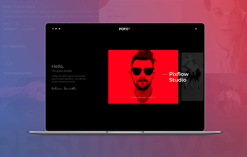 12+ Best Resume/vCard WordPress Themes For Your Online CV and Personal Portfolio